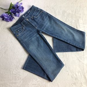 7 for all Mankind Jeans straight leg waist 25